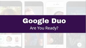 Google Duo Headboard