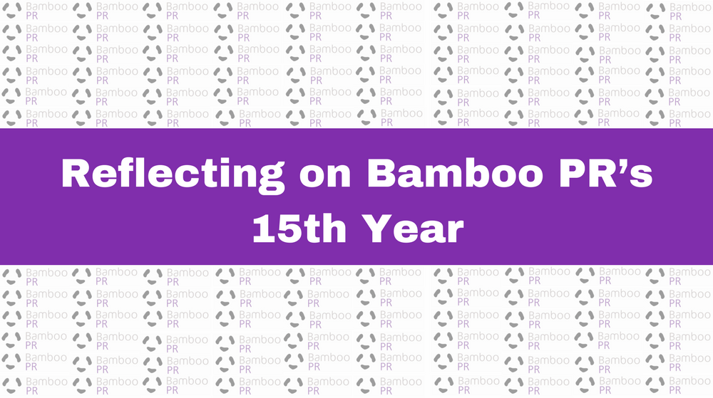 Reflecting on Bamboo PR's 15th Year