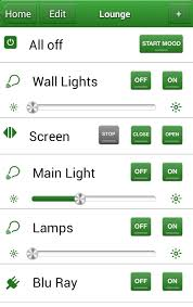 LightwaveRF Releases New Smart Home Android App