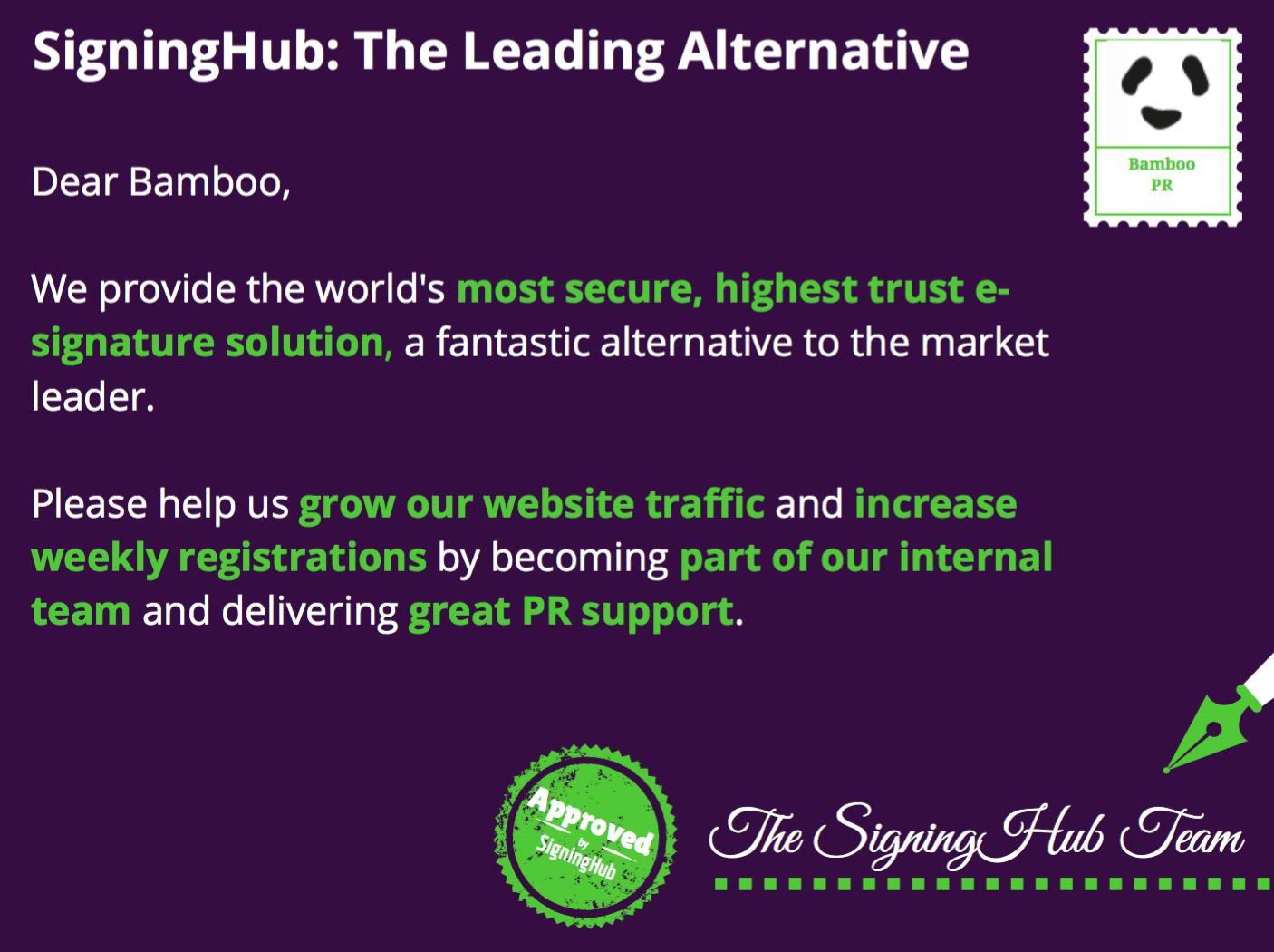 SigningHub Showcase Image