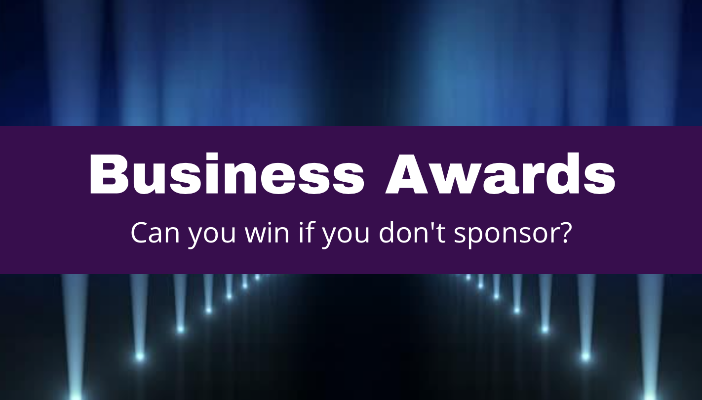 Can You Win Awards If You Don't Sponsor?