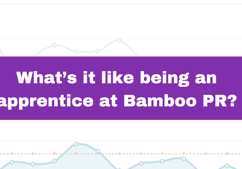 What's it like being an apprentice at Bamboo PR?