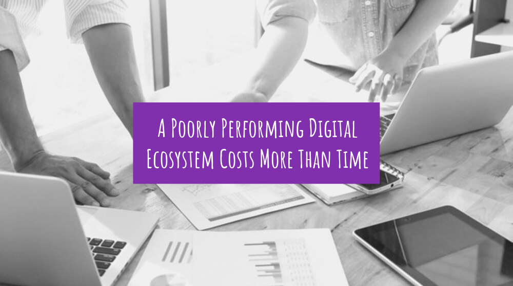 A Poorly Performing Digital Ecosystem Costs More Than Time