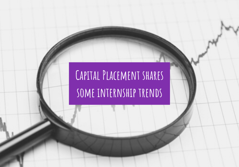 Capital Placement shares some internship trends