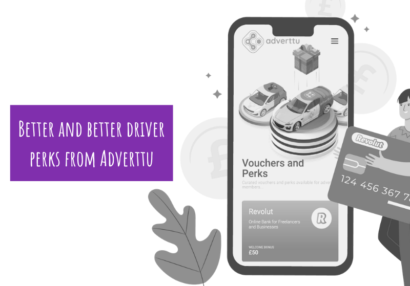 Better and better driver perks from Adverttu