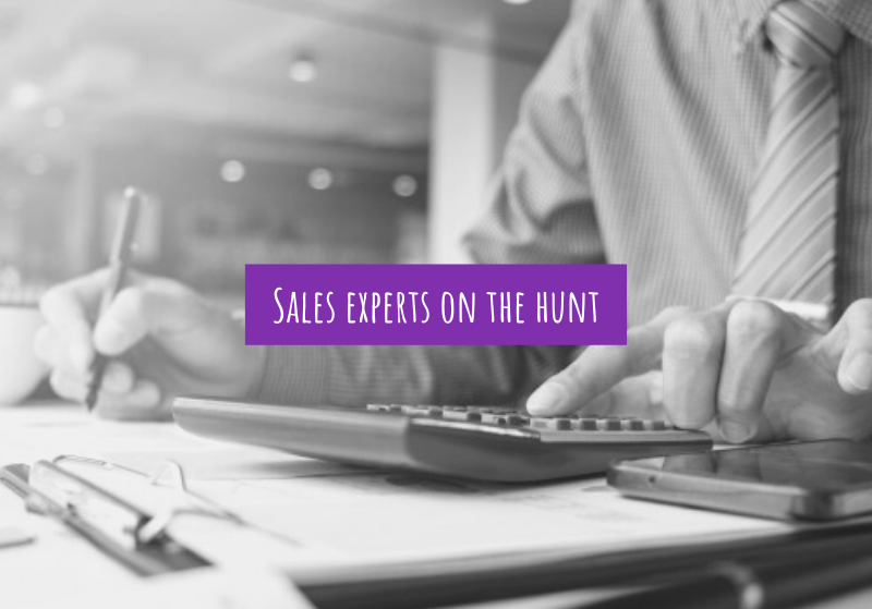 Sales experts on the hunt