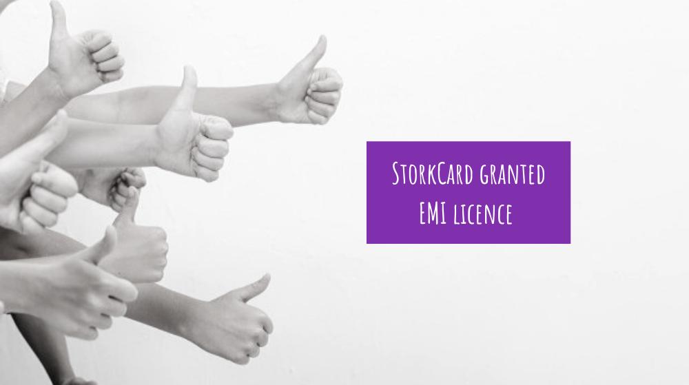 StorkCard granted EMI licence