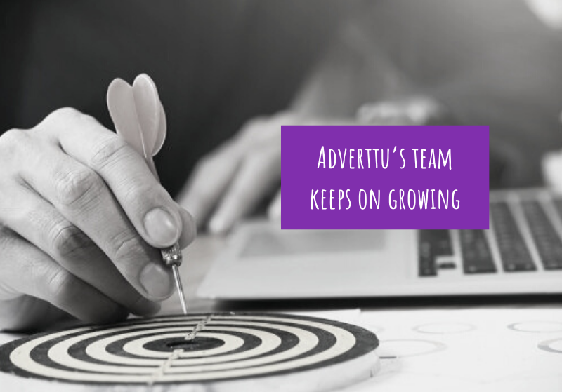Adverttu's team keeps on growing
