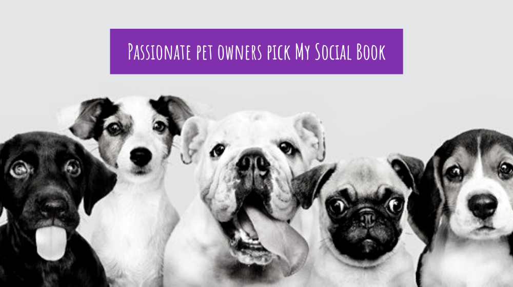 Passionate pet owners pick My Social Book